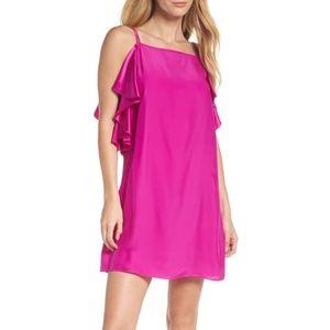 NWT Lilly Pulitzer KARA Silk Blackberry Dress Sz 2